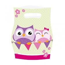 Happy Owl godispåsar, 8 st