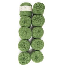 Adlibris Felting Wool 100g Green A125 10-pack