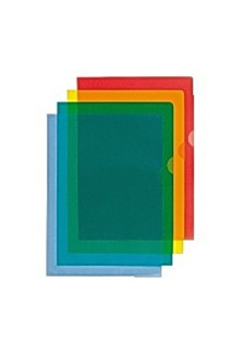 Aktmappar A4 0,11 mm Röd 100 st