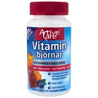 Active Care Vitaminbjörnar, 60 tuggtabletter