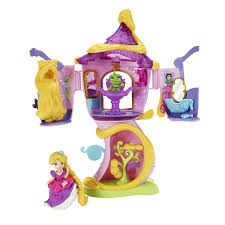 Disney Princess, Little Kingdom, Rapunzel's Stylin' Tower