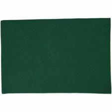 Hobbyfilt, A4 21x30 cm, tykkelse 1,5-2 mm, 10 ark, grønn