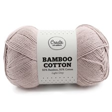 Adlibris Bamboo Cotton 100g Light Grey A534