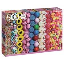 Sweets, Pussel 500 bitar, Jumbo