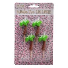 Rice Palm Tårtljus 4-pack Grön