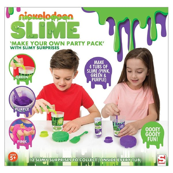 Nickelodeon Slime Create Your Own Party Pack