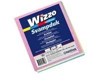 Oppvaskklut Wizzo Clean M assorterte farger (4)