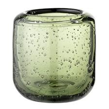 Bloomingville Lysholder Glass Diameter 7 cm, Høyde 7,5 cm Grønn