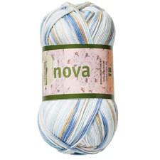Nova 50g Valk./beige/sin. printti (48023)