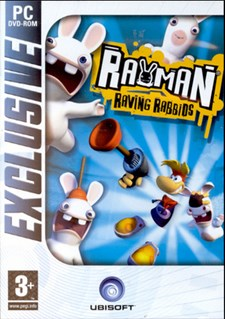 Rayman Raving Rabbids - Exclusive
