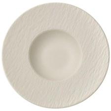 Villeroy & Boch Manufacture Rock Blanc Pastatallrik Dia 29 cm Vit