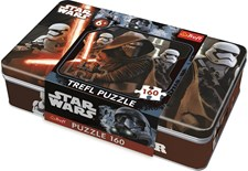 Pussel 160 bitar i plåtask, Star Wars