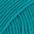 Merino Extra Fine Uni Colour Garn Merinoull 50 g Turkos (29) Drops