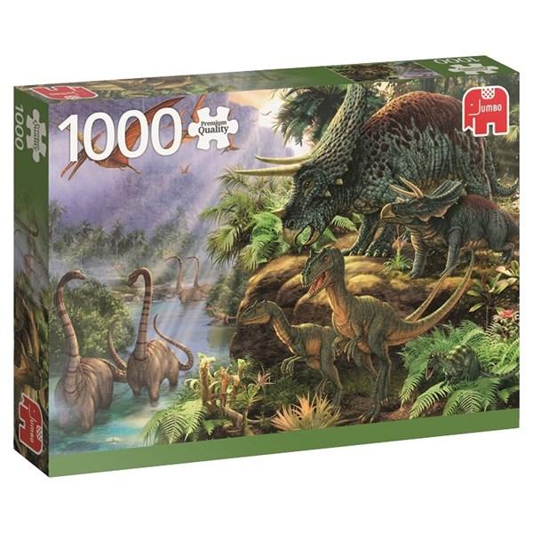 Dinosaur Valley, Puslespill, 1000 brikker, Jumbo