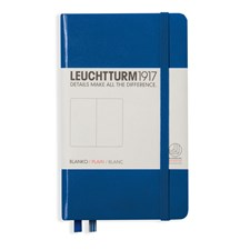LT NOTEBOOK A6 Hard royal blue 185 p. plain