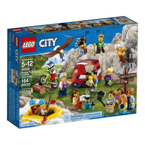 Figurpaket – Utomhusäventyr, LEGO City (60202)