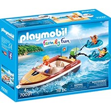 Racerbåt med surfare, Playmobil (70091)