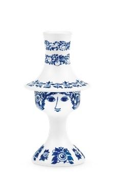 Lysestake, Rosalinde, H 16,5 cm, Blå, Bjørn Wiinblad