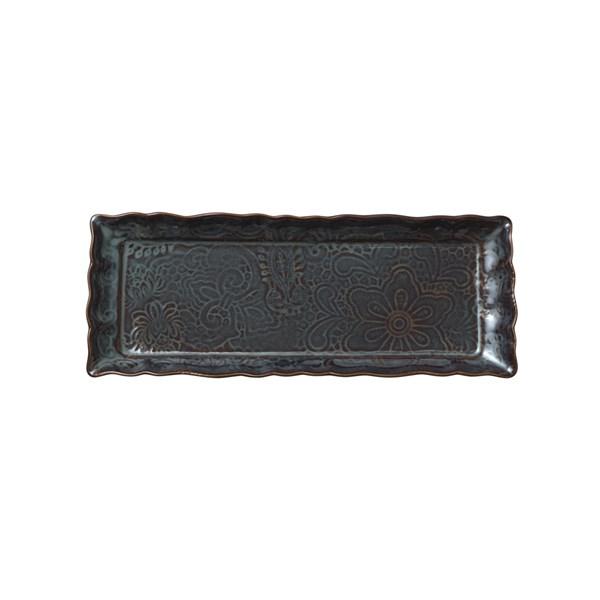 Sthål Arabaesque Fat 33.5x13.5 cm Stengods Fikon (grå)