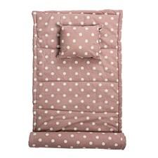 Rantamatto Vaaleanpunainen Puuvilla 180X70 cm