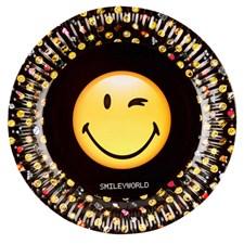 Emoji tallrikar, 8 st