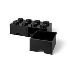 Lego Förvaringslåda 8, Svart
