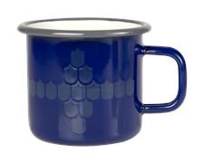 Muurla Vappu Keittiössä Emalimuki 37 cl Sininen