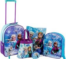 Komplett väskset i 5 delar, Disney Frozen