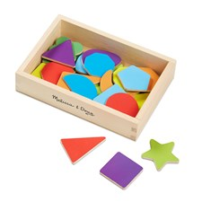 Magnetic Wooden Shapes and Colors, Melissa & Doug
