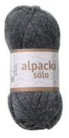 Alpacka Solo Ullgarn 50g Mörkgrå (29107)