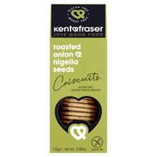 Kent & Fraser  Crackers Rostad Lök & Svartkummin 110 g