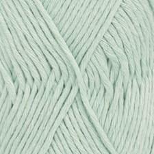 Drops, Cotton Light Uni Colour, Garn, Bomullmiks, 50 g, Mint 27