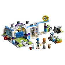 Biltvätt med snurrande borstar, LEGO Friends (41350)