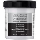 Professional Akryyliväliaine White Gesso Winsor & Newton225 ml