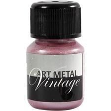 Art Metall maling, lava rød, 30ml