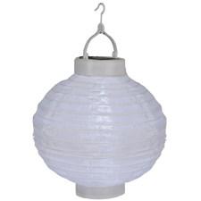 Rislampe, LED, Solcelle, Hvit
