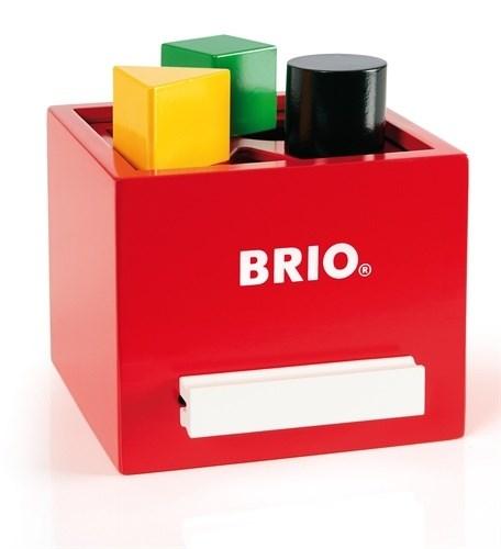 Palikkalaatikko, punainen, Brio  puulelut  Adlibris
