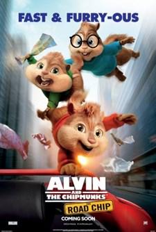 Alvin och gänget 4 - Gasen i botten (Blu-ray)