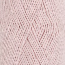 Drops Nord Uni Colour Lanka Alpakkasekoitus 50g Powder Pink 12