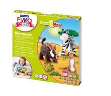 FIMO® kids-lera, Ler-Set, Forma Och Lek, Savannen