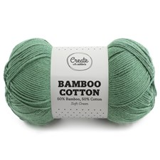 Adlibris Bamboo Cotton 100g Soft Green A522
