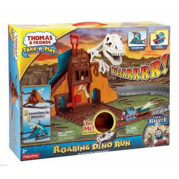 Roaring Dino Run  Thomas och Vännerna  Brandman Sam - figurer & miniatyrer