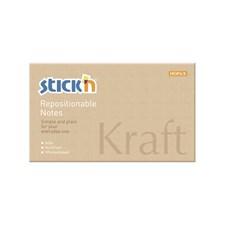 Kraftblock STICK´N 76x127, 100 blad