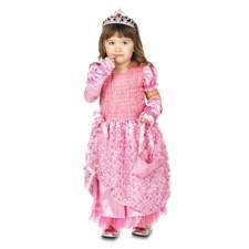 Vaaleanpunainen prinsessamekko 3–4-vuotiaille, Micki