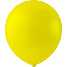 Ballonger, dia. 23 cm, 10 st., gul