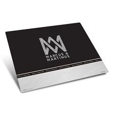 Skriveunderlag, 50 x 35 cm, Silver Line, Marcus & Martinus