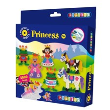 Perlesett, Prinsesser, 2000 stk, Playbox