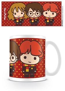 Harry Potter Krus Kawaii Harry, Ron & Hermione