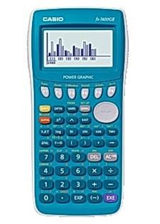 Grafitande räknare Casio FX-7400GII