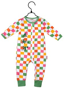 Pyjamas Sorbet, Rutig, Pippi Långstrump